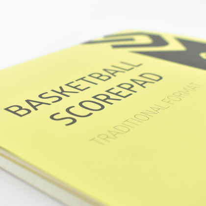 Picture of Set of 5 Traditional/Running Basketball Scorepads