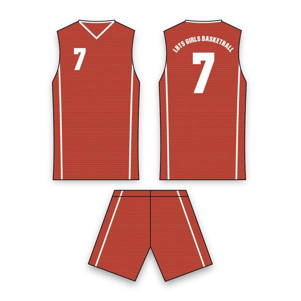 Picture of Pro Team Women's Basketball Uniform